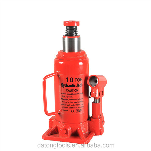 Can Extendable 10 Ton Hydraulic Bottle Jack Support CE GS TUV
