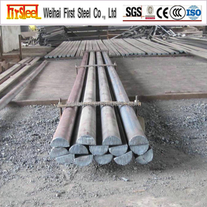 Factory supply High quality S355 steel half round bar