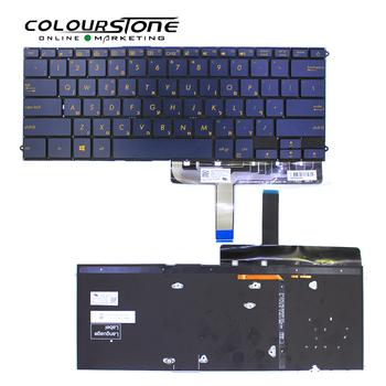 New original Herberw Laptop keyboard for ASUS UX490 UX490UA Black backlit  Laptop keyboard, View backlight keyboard for laptops, For asus Product