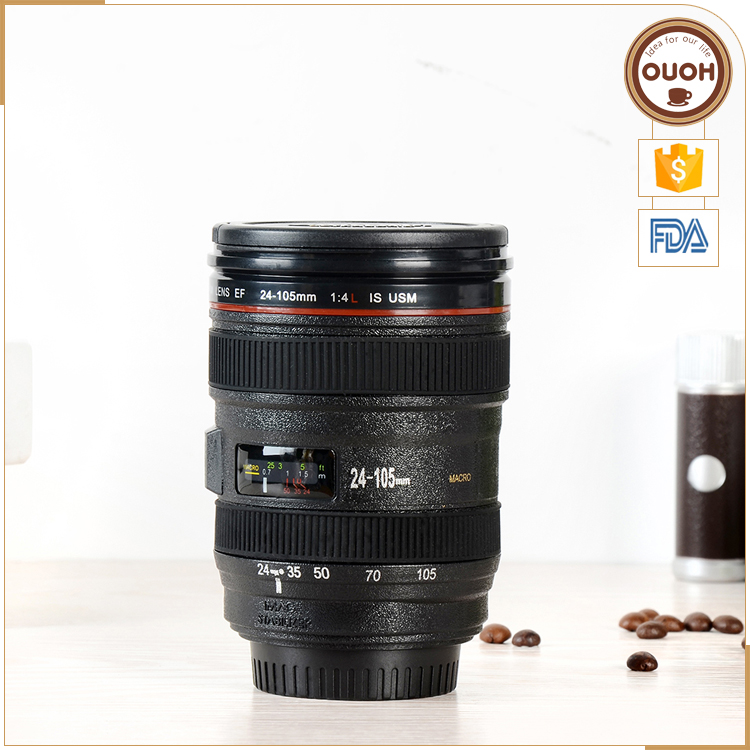 caniam 24-105mm 1st Multi Purpose Ashtray Pen Holder Creative xmas Gift Camera Lens Cup Mug