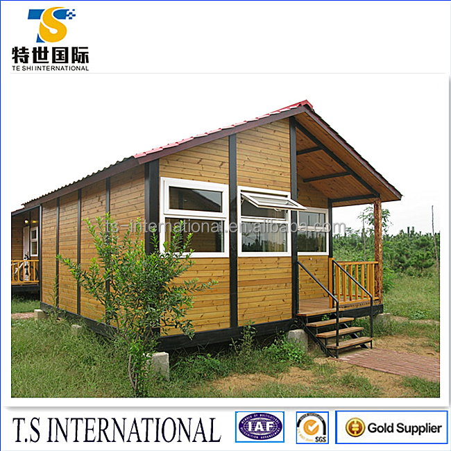 Wooden portable prefabricated container house / Resort /Dormitory