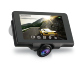 DVR Mini Full HD android 360 degree GPS dual lens camera 1080p car dash cam