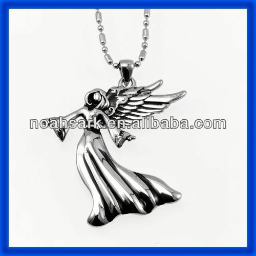 China jewelry wholesale stainless steel pendant angel