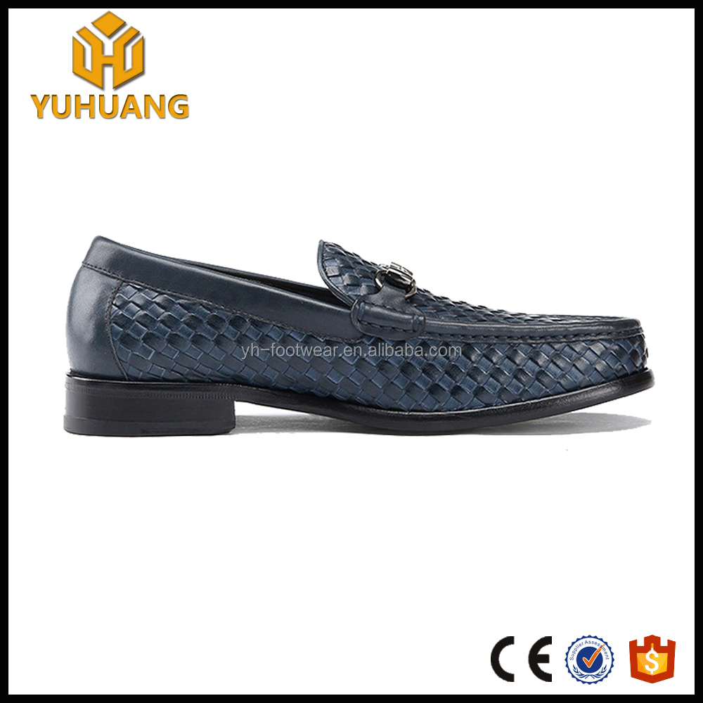 shoes Pattern men made loafer custom shoes grain Shoes Hand Exalted Goodyear rattan Woven genuine leather fx8q466