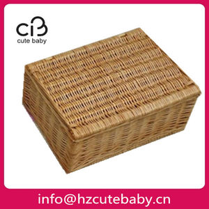 easy to carry walking rattan dog cages