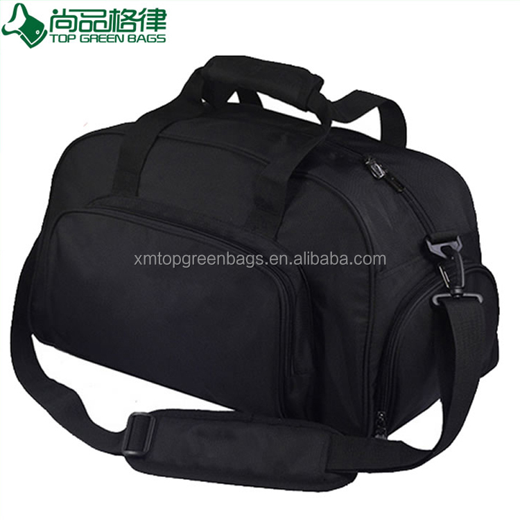 Waterproof pro sports duffle fitness  bag black Sport Duffle Travel Bag