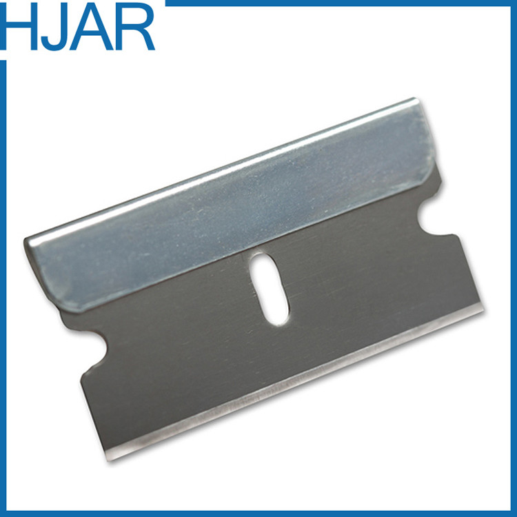 Tin Plate Backed Single Edge Safety Blade