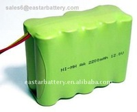 12v 2300mah battery pack AA rechargeable nimh battery pack