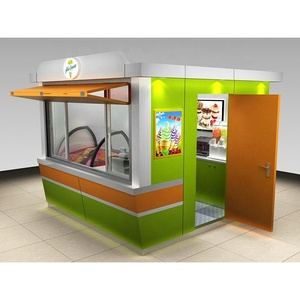Outdoor Food Kiosk Design