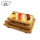 China factory supply bamboo sushi plate set