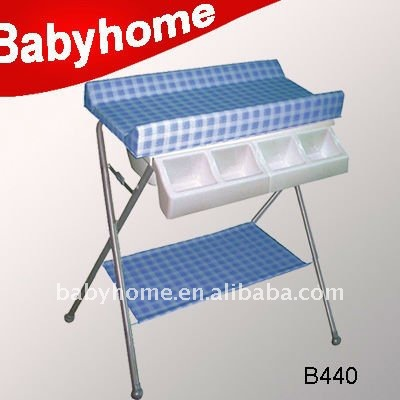 folding baby bath changing table ce standard baby diaper changing table - Diaper Changing Table
