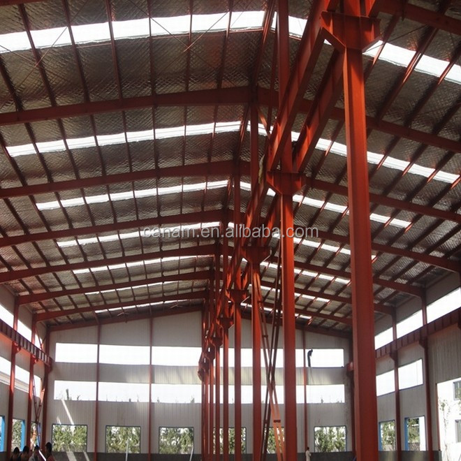 Single storey steel structure warehouse