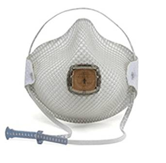 Moldex(R) Small N95 Particulate Disposable Respirator With Ventex(R) Exhalation Valve, Dura-Mesh(R) Shell And HandyStrap(R) - NIOSH 42CFR84/ANSI/ISEA 110-2003 Section 7.11 (10 Each Per Box). Sold by 10 / EA