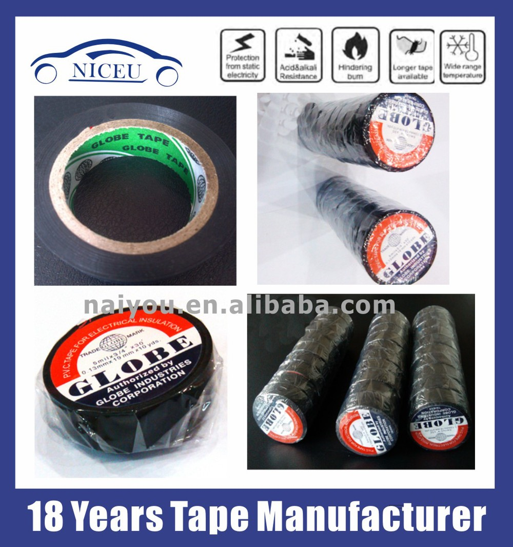 HTB1.9UcHFXXXXXZaXXXq6xXFXXXR 0 13mm*19mm*10yds globe pvc tape for automobile wire harness automobile wire harness at edmiracle.co