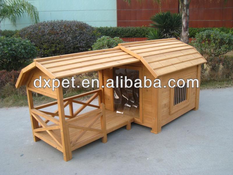 Casa De Madera Perro Con Run Dxdh006 - Buy Product on Alibaba.com