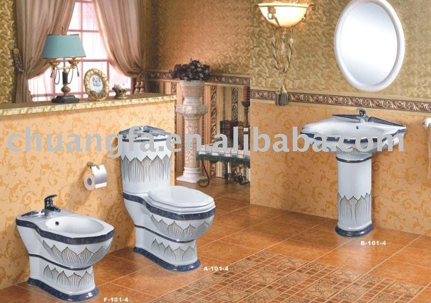 hight qualit toilette pi destal bassin bidet c ramique couleur salle de bains cuvette des. Black Bedroom Furniture Sets. Home Design Ideas