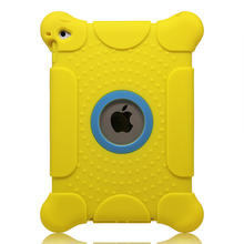 Shock proof tablet case for ipad mini Rubber Cover Rugged Tough Case