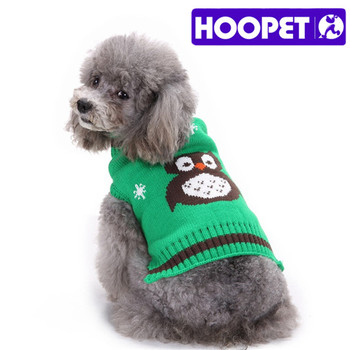 Pet Christmas Thicken Owl Dog Sweater Free Knitting Pattern Buy