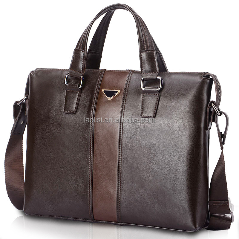 Guangzhou Manufacturing Businss Man Bag Leather Office Bags For ...