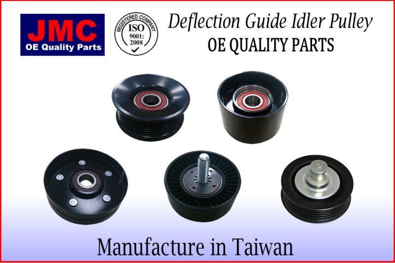 Aux Belt Idler Pulley fits SSANGYONG Guide Deflection Gates 6612003170 Quality