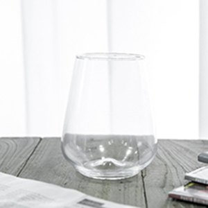 Wholesale 520ml Lead-Free Crystal Stemless Wine Glass