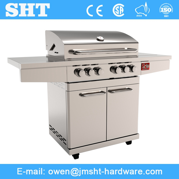Alibaba Golden Supplier All Stainless Steel China Made Gas Bbq Grill