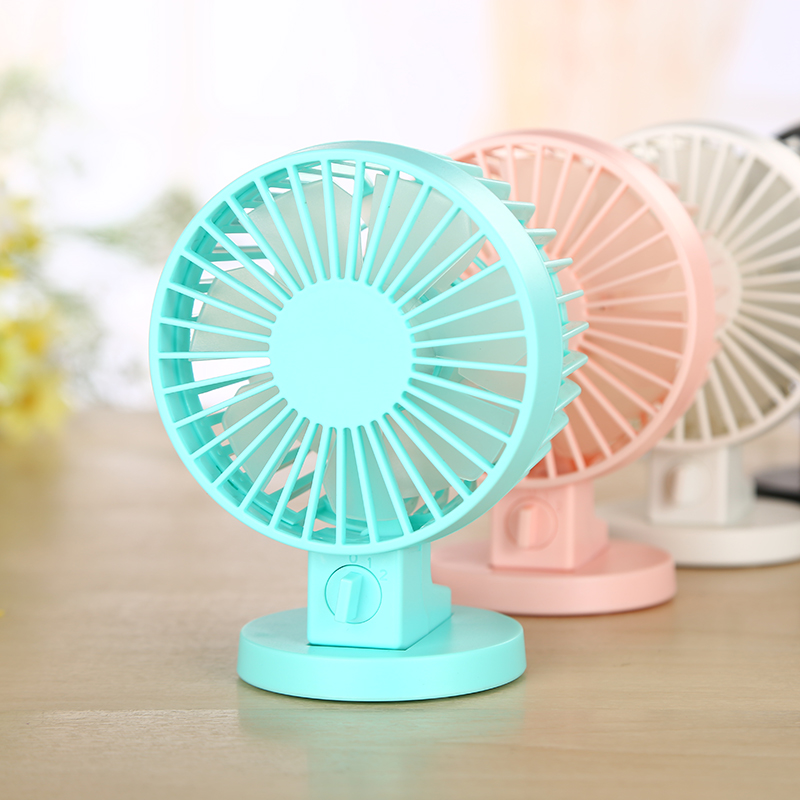 Wholesale WT-8019 Mini Adjustable Usb Table Noiseless Fan For Office