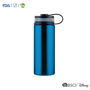 Thermal sublimation flask water custom logo insulated bottles with straw