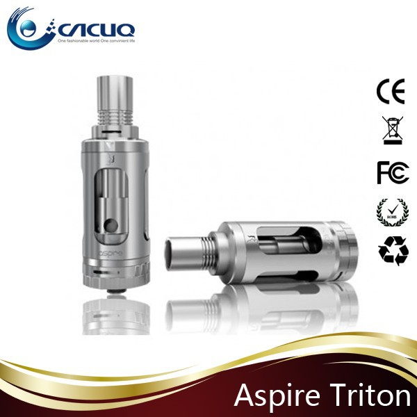 Newest Hottest wholesale 3.5 ML Aspire top filling Triton Tank with AFC top and bottom includes an RBA section in stock