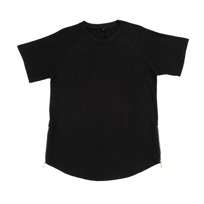 c12a25325 Mens Mais Recente Simples Zíper Lateral Um Homem T Camisa India ...