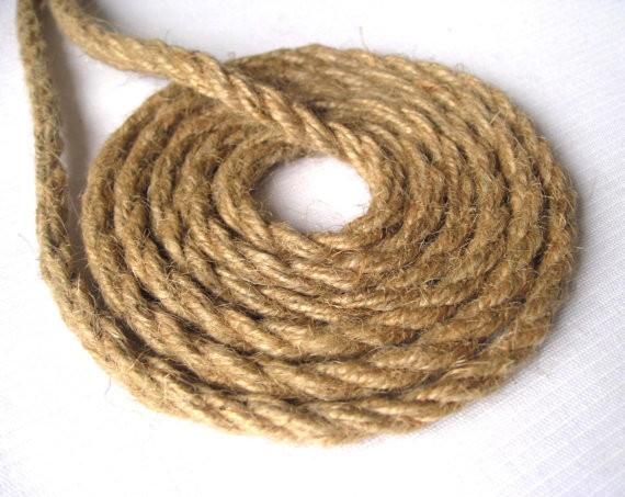 10mm cuerda de yute para scratch post maneja yute cuerda cordones alta calidad ronda cuerda de - Cuerda De Yute