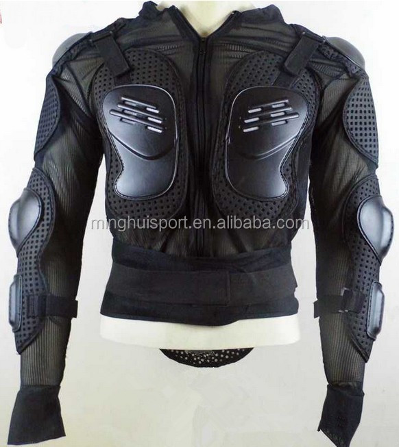 Hot Sale Racing Motorcycle Armour Jacket Motocross Motorbike Wear Guard Clothes Body Armor Jacket Black