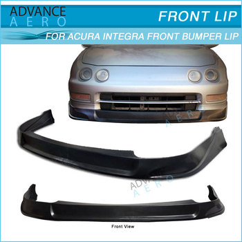 For Acura Integra Type C Style Pu Front Bumper Lip Spoiler - Body kits for acura integra