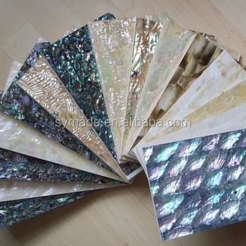 High Quality Natural Mother of Pearl Shell Sheet/Paper Furniture Jewellery Music Instrument Decoration