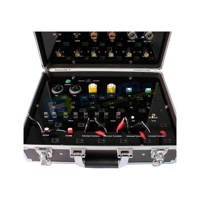 LED Demonstration Box For LED Lighting Portable Demo Case Handy Suitcase Show Case Led Demonstration Case