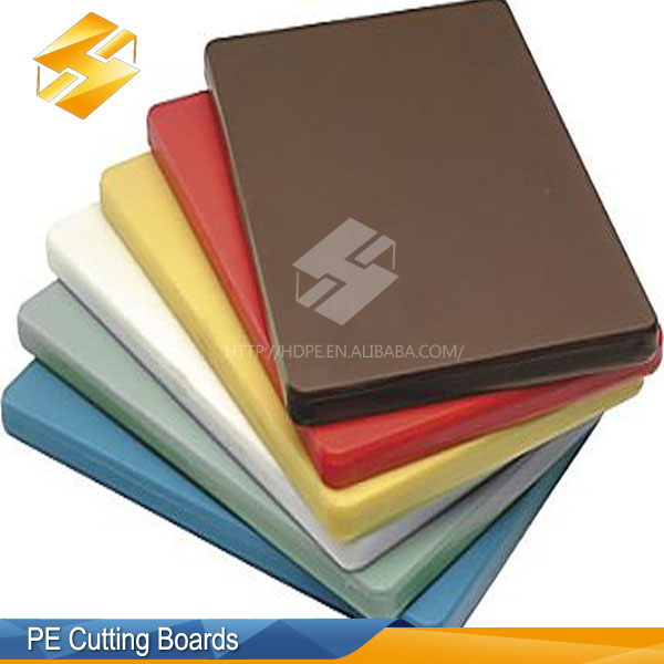 Customed Kind Of Kitchen Thin Plastic Pe Sheet Uhmwpe Cutting Board