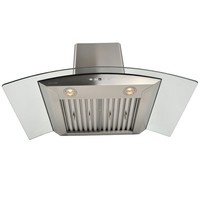 Wall Mounted Kitchen Stainless Steel Range Hood AP238-PSD-36