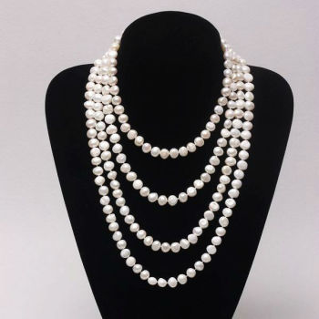 Fashionable Pearl Necklace Jewelry Customize Pearl Necklace Design ...