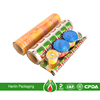 Printed food packaging aluminium can lid roll