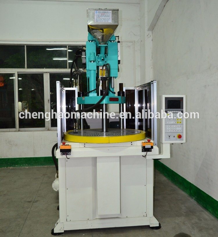 2016 hot selling chenghao brand small vertical injection molding machine price For making eye glass frame
