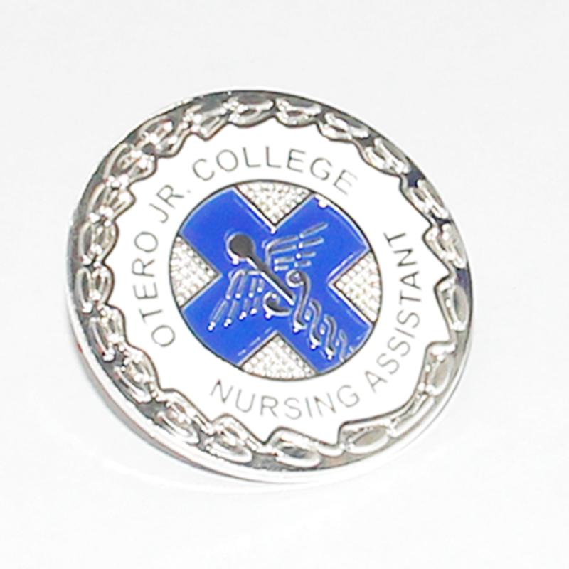 50e4759c60 3d Design Custom Name Metal Tin Custom Football Game Badge - Buy ...