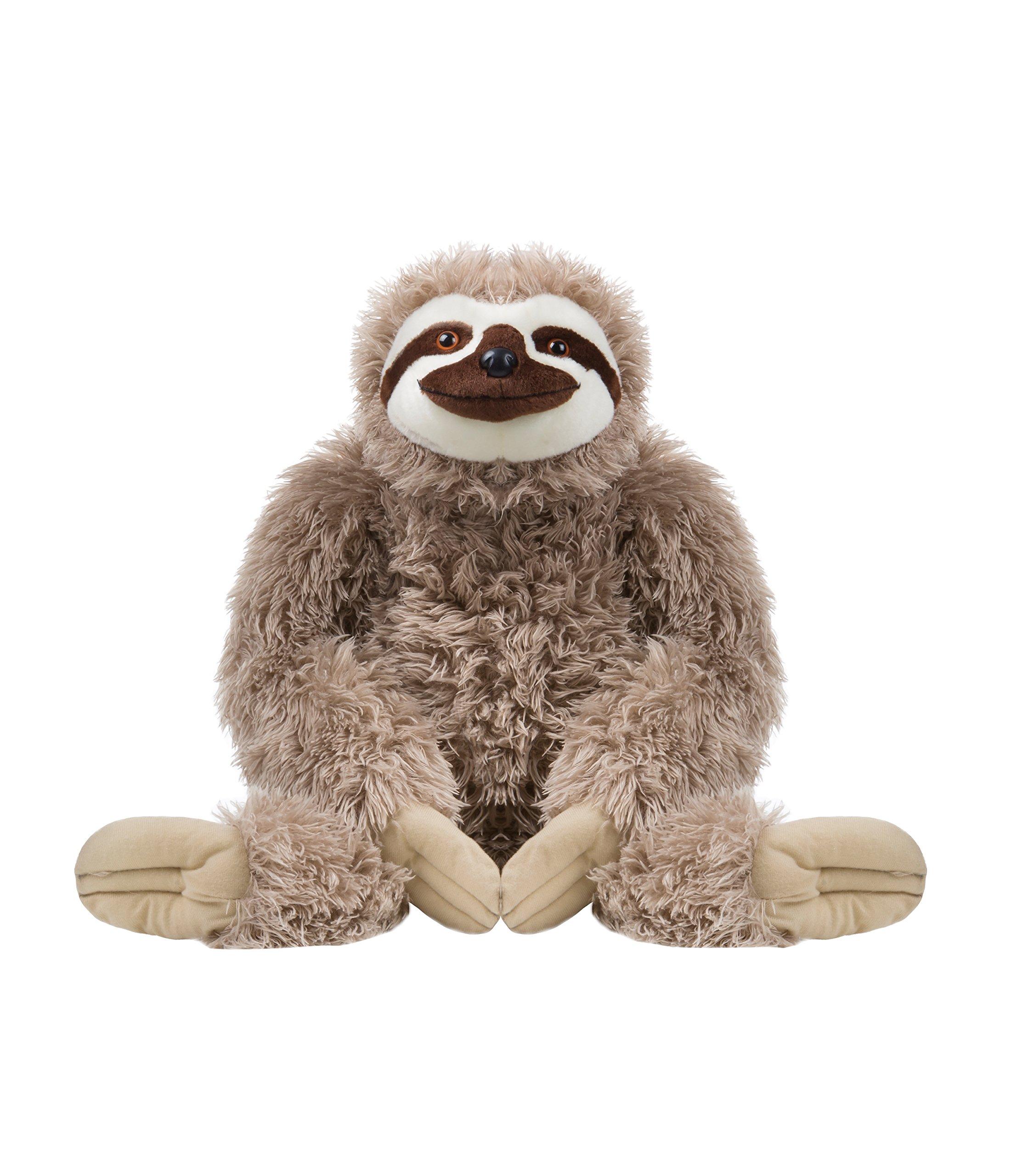 Wild Republic Jumbo Sloth Plush, Giant Stuffed Animal, 30 Inches