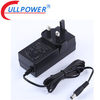 CE certificated 20v 1.8a UK plug wall mount AC adapter