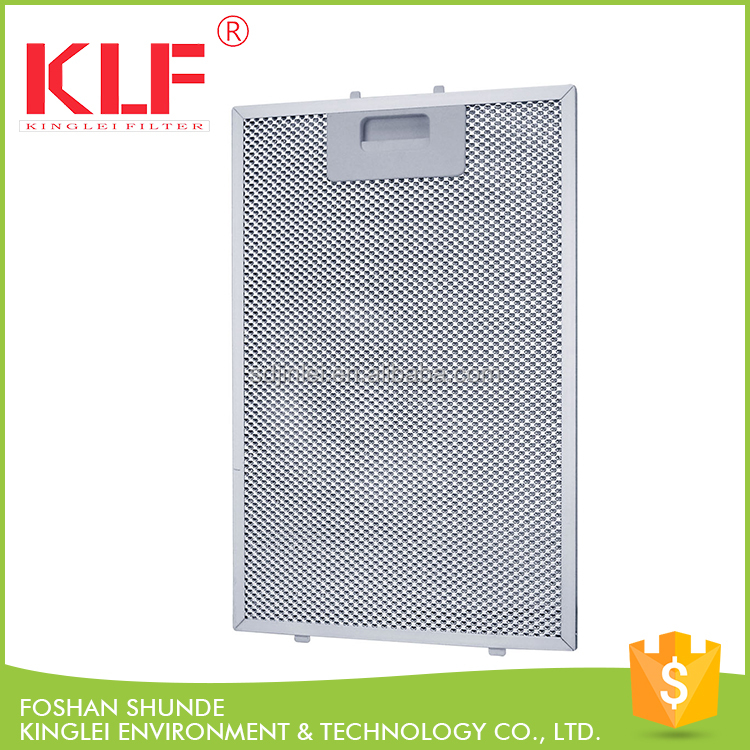 OEM kitchen exhaust fans cooking oil grease filter for range hood