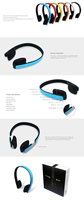 Wireless Headphone With Mic For Laptop Pc Iphone 6 Plus Samsung S6 ...