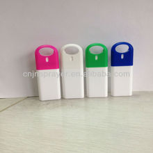 Plastic credit card shape 20 ml for perfume