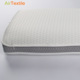 Pure white breathable wrap knitted 3d air mesh fabric pillow