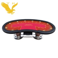 Wholesale Oval Texas Poker Game Casino Craps Tables