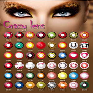 2017 halloween fancylook south korea wholesale cosplay cosmetic color contact lens