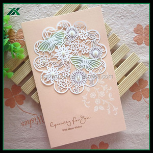 Printed Wedding Invitation Paper Cards